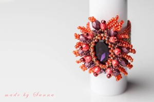 Ring orangelila1